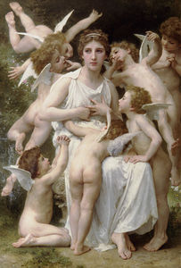 William Adolphe Bouguereau - 的 突击