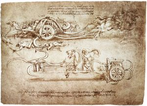 Leonardo Da Vinci - engineering-Assault 辂 与 镰刀