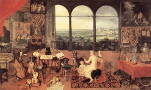 Jan Brueghel The Elder - 听觉