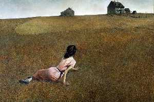 Andrew Wyeth - Christina-s  世界