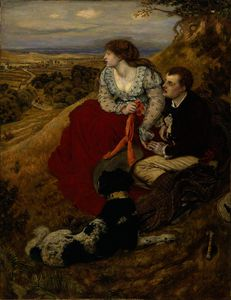 Ford Madox Brown - Byron-s 梦想