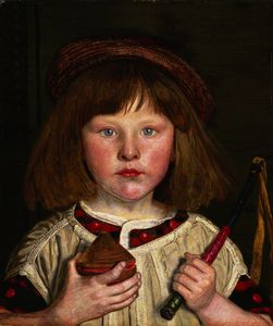 Ford Madox Brown - 英文 男孩