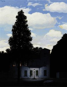 Rene Magritte - L'empire 梅 lumieres