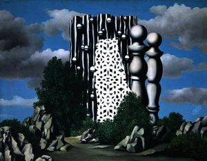 Rene Magritte -  的  榜文 ( L'Annonciation )