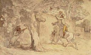 Thomas Rowlandson - 被盗吻