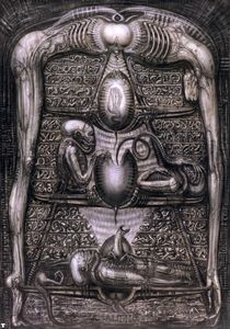 H.R. Giger - HR吉格alienhieroglyphics