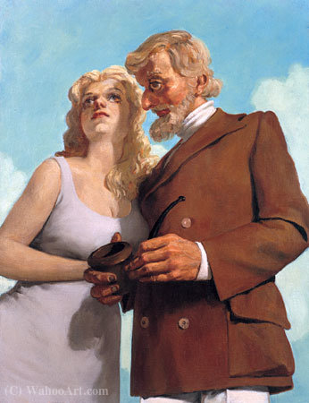 LoversInTheCountry(1993年) 通过 John Currin