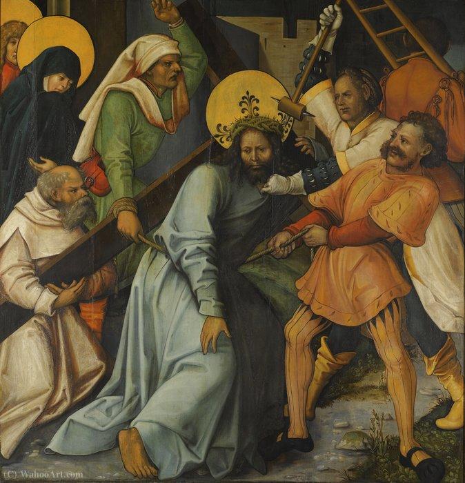 """""""耶稣背着十字架"""" 通过"""