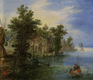 Jan The Younger Brueghel - 河景