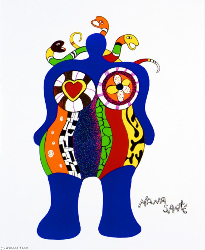 娜娜 桑特  通过 Niki De Saint Phalle (1930-2002, France) | 傑作拷貝 | WahooArt.com
