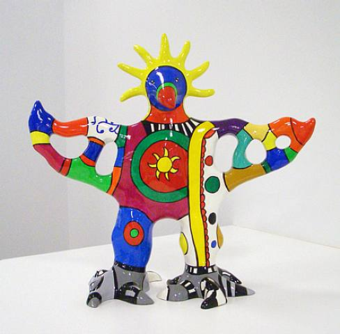 太阳神 花瓶  通过 Niki De Saint Phalle (1930-2002, France) | 幀打印 | WahooArt.com