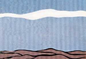 Roy Lichtenstein - 风景 1964