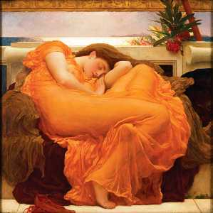 Lord Frederic Leighton - 燃烧的六月