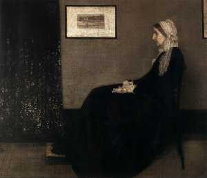 James Abbott Mcneill Whistler - 艺术家的母亲