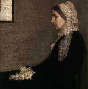 James Abbott Mcneill Whistler - 艺术家的母亲 详细