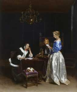 Gerard Ter Borch The Younger - 信