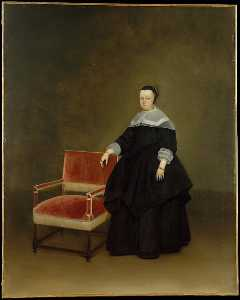Gerard Ter Borch The Younger - 玛格丽莎面包车Haexbergen 1614   1676