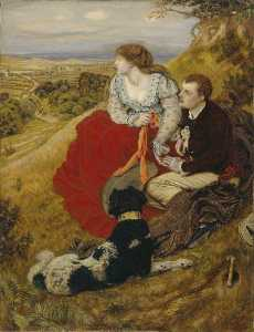Ford Madox Brown - Byron's 梦想