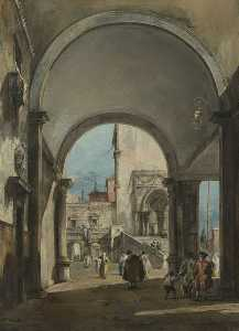 Francesco Lazzaro Guardi - 建筑随想