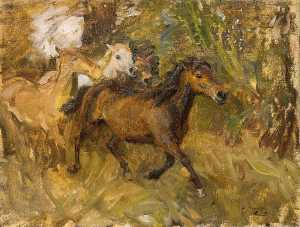Alfred James Munnings - 穿越福特