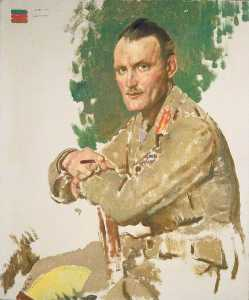 William Newenham Montague Orpen - 准将 一般 休 贾米森 埃尔斯 ( 1880–1945 ) , CB , DSO