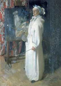 William Newenham Montague Orpen -  肖像  的  艺术家