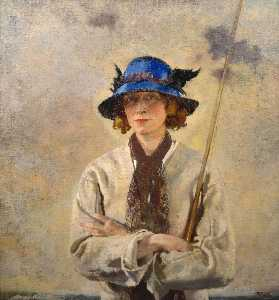 William Newenham Montague Orpen - 垂钓者