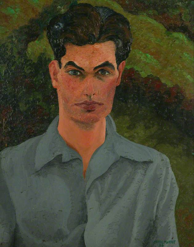 乔治 洛雷  康兰  1912–1986  , 油画 通过 Cedric Lockwood Morris (1889-1982, United Kingdom)