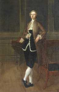 Arthur William Devis - 托马斯 打猎  ㈢  1721–1788