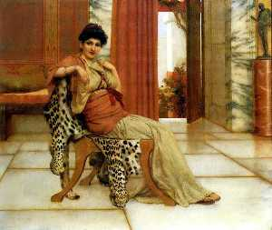 John William Godward - 紫罗兰