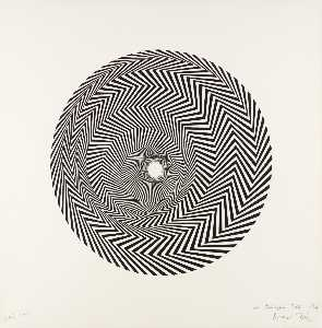 Bridget Riley - 火焰