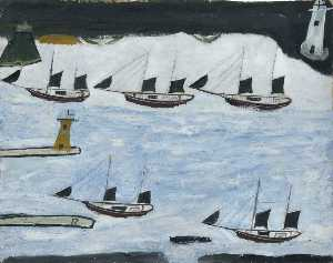 Alfred Wallis - 五 船舶 , Mount-s 海湾