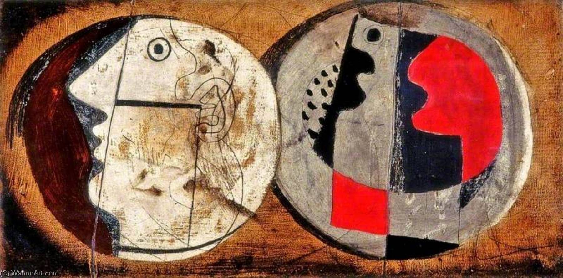 1933  设计 , 1933 通过 Ben Nicholson (1894-1982, United Kingdom) | 手工畫 | WahooArt.com