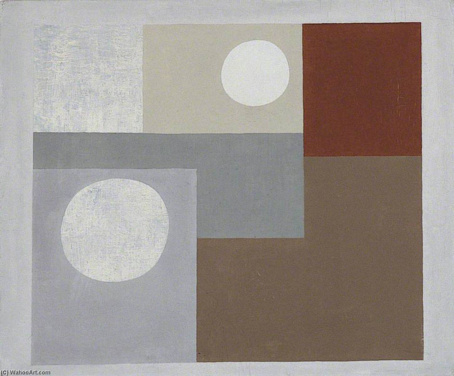 1934  绘画 , 1934 通过 Ben Nicholson (1894-1982, United Kingdom) | 幀畫冊專輯 | WahooArt.com