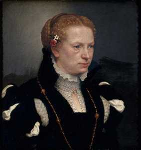 Giovanni Battista Moroni - 人像德指数Femme