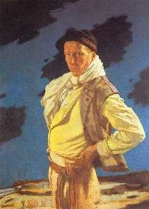 William Newenham Montague Orpen - 男人 从  阿兰