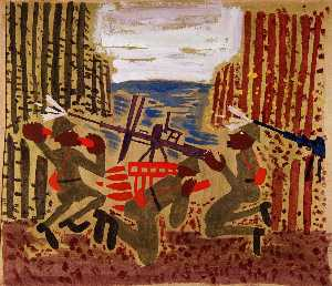 William Henry Johnson - 战争 场景