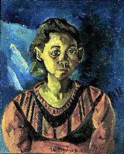 William Henry Johnson - 小姑娘