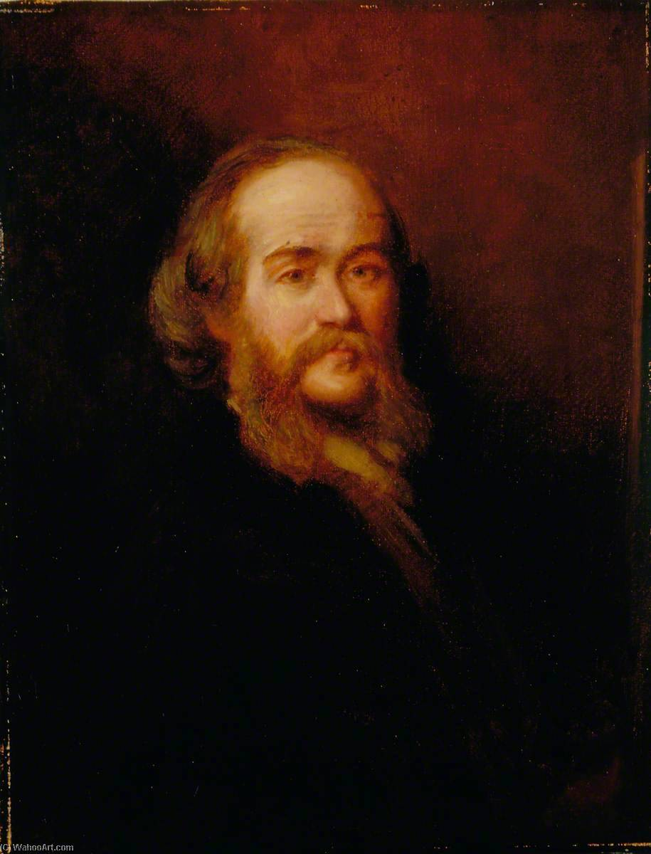 自画像, 油画 通过 Thomas Stuart Smith
