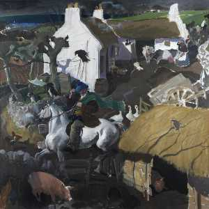 Alexander Goudie - 'Leaving 的 Farm'