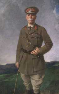 顺序 畫再現 : 安东尼 鲍比 ( 1855–1929 ) , 1st Bt , KCB , KCMG , KCVC, 1921 通过 Samuel Henry William Llewellyn | WahooArt.com