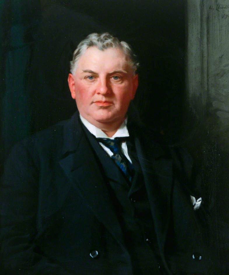 先生 威廉 C . 灰色 ( 1867–1924 ), 1921 通过 Samuel Henry William Llewellyn | 幀打印 | WahooArt.com