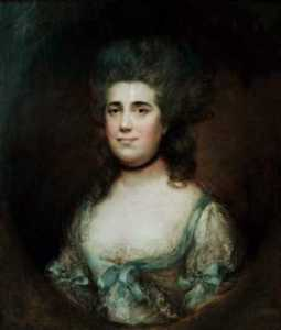 Thomas Gainsborough - 伊丽莎白女王安妮·盖塞小姐