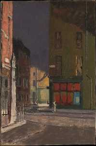 Walter Richard Sickert - 枫 街道  伦敦