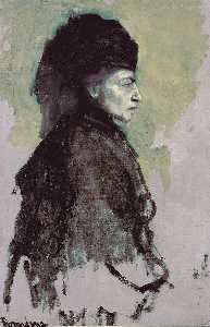 Romaine Brooks - 贵妇人 恩 Deuil