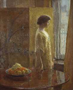 Frederick Childe Hassam - 东 窗口