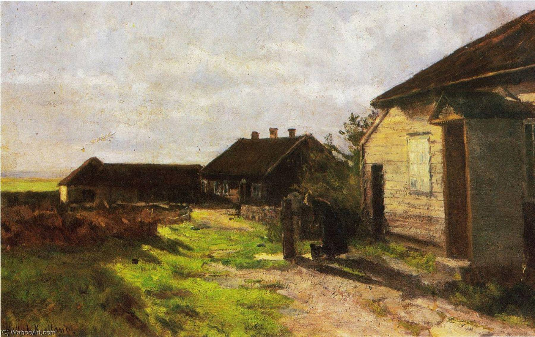 墅 在 Kvalbein, 1904 通过 Kitty Kielland | 幀打印 | WahooArt.com