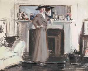 Francis Campbell Boileau Cadell - 思考