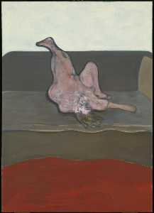 Francis Bacon -  斜倚 女性