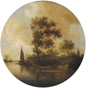 Anthony Jansz Van Der Croos - 江景